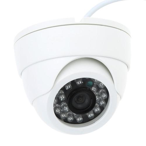 CCTV 800TVL Indoor 24 LEDs Weitwinkel IR Farbe Sicherheit Überwachung Dome Kamera
