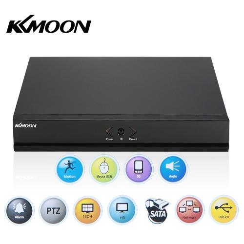 Gravador de Vídeo Digital KKmoon 16 Channel 960H