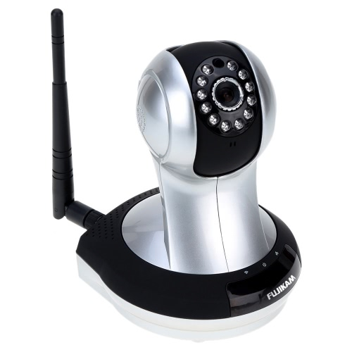 FUJIKAM FI-361 HD 720P IP Kamera Webcam Überwachungskamera Monitor Cloud Netzwerk Wireless Phone Access Schwenk Neige IR CUT
