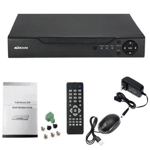 中古KKmoon®16CHチャンネルフル1080N / 720P AHD DVR HVR NVR HDMI P2PクラウドネットワークOnvifデジタルビデオレコーダーハードディスクのサポートプラグアンドプレイAndroid / iOS APP無料のCMSブラウザ表示動き検出EメールアラームPTZ for 2000TVL CCTV防犯カメラ監視システム