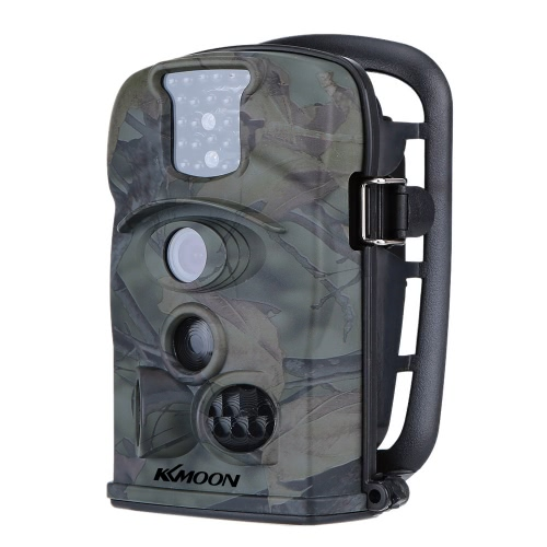 KKmoon 12MP 720P 120° Wide Angle HD 850nm IR IP54 2.4inch LED Screen Game Camera Security Scouting Hunting Trail Camera with 8GB SD Card