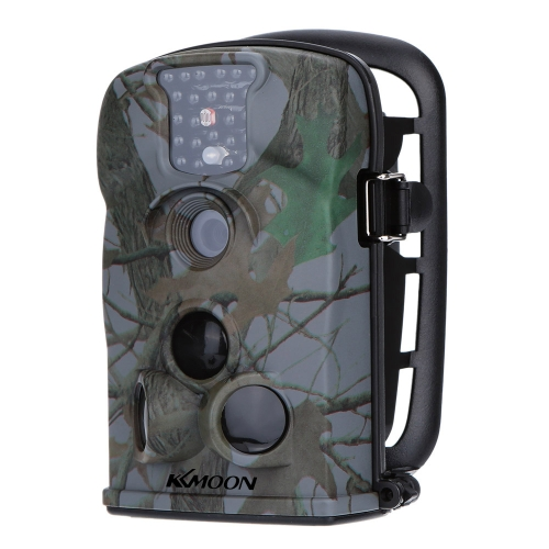 KKmoon 12MP 1080P HD 940nm IR wasserdichte Kamera 2.4inch Spiel-LED-Bildschirm Sicherheit Absuchen Jagd Spur Kamera mit 8 GB SD-Karte