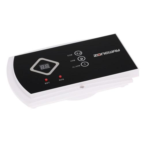 ZONEWAY ANDROID IOS APP kontrolliert drahtlosen GSM SMS Autodial zuhause Sicherheit Alarmanlage