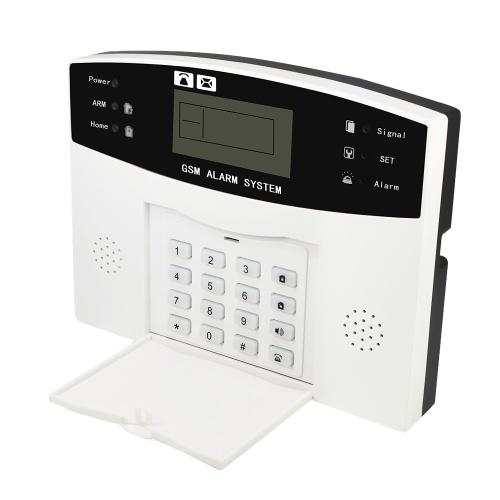 Segunda Mão Sem Fio GSM SMS Casa Detector de Sistema de Alarme da Segurança do Assaltante Kit Sensor de Controle Remoto 433 MHz