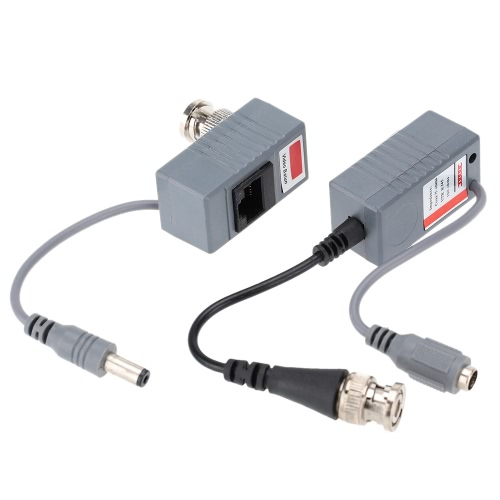 CCTV-Kamera Video Balun Transceiver BNC UTP RJ45 CAT5/5E/6 Kabel