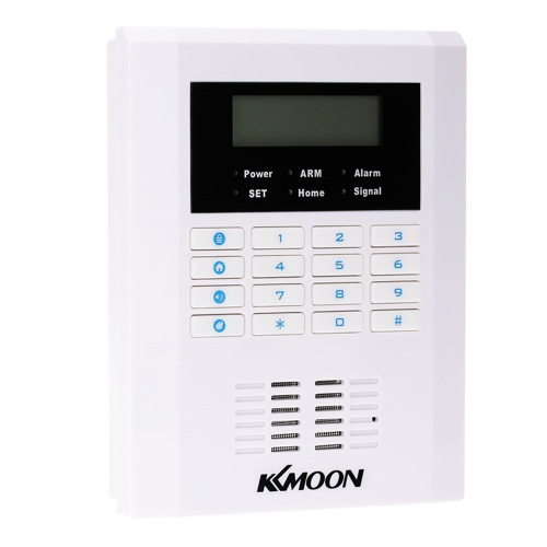 KKmoon Quad-4-Bands GSM PSTN LCD Display Wireless Home Security Alarm Burglar System 101 Zone 99 Wireless Zone And 2 Wired