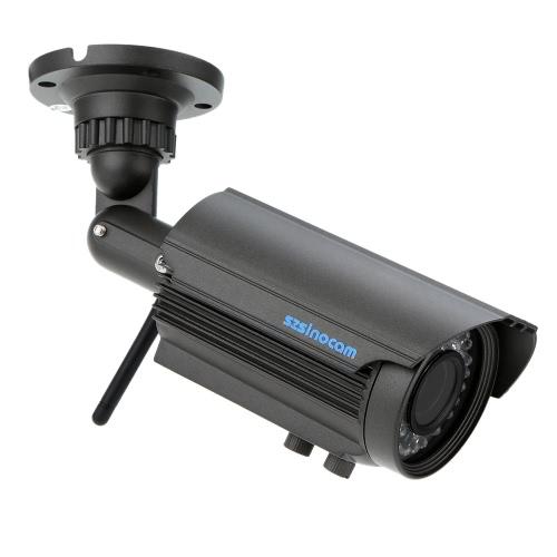 H. 264 HD 720p Megapiexl 2.8-12mm Zoom bala Wifi câmera impermeável com 36IR LEDs casa segurança
