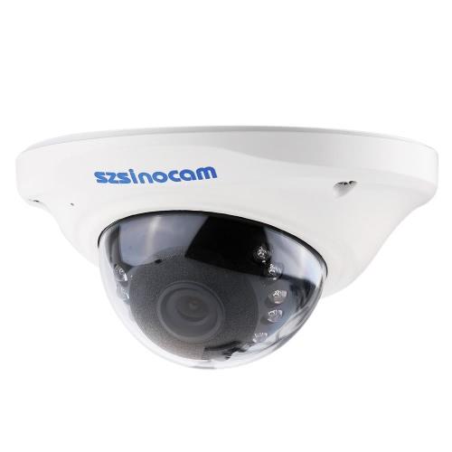 szsinocam h. 264 HD 720p IP megapixel com 12pcs IR LEDs CCTV segurança
