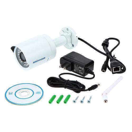 H. 264 HD 720p Megapixel Bullet wasserdichte WiFi Kamera mit 36IR LED-Startseite Sicherheit