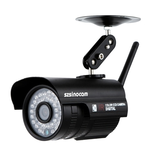 Segunda Mão H.264 HD 720 P Megapixel Bala À Prova D 'Água Câmera Wi-fi com 36 pcs IR LEDs Home Security