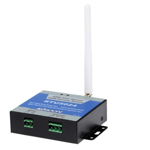KKmoon® On/Off interruttore di chiamata gratuita SMS comando supporto 850/900/1800/1900 MHz GSM KKMOON porta Gate Opener remoto