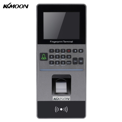 Biometric Fingerprint Access Control System TCP/IP USB and U-drive Attendance Machine Electric RFID Card Reader Sensor
