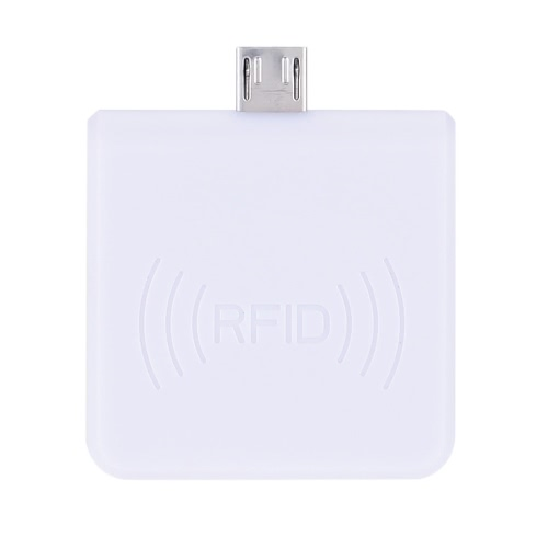Portátil RFID 13,56 MHz proximidade inteligente USB IC Card Reader Win8/Android/OTG com suporte R65C