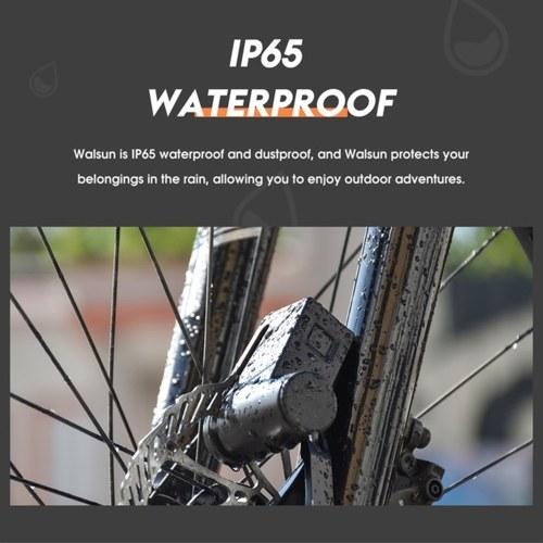 Motorcycle Scooter Bicycle Fingerprint Disc Brake Lock