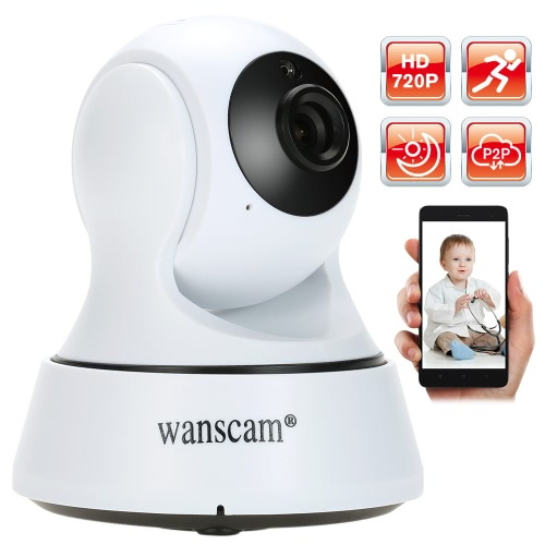 Wanscam HD 720P Megapixels Wireless WiFi Pan Tilt Network IP Camera Baby Monitor