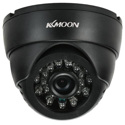 KKmoon® CCTV-Sicherheits-Überwachung DV DVR Innenhaube-Kamera USB Disk PC-Cam-Unterstützung Audio-TF-Karten-Loop Record-Infrarot-Nachtsicht-0.3MP VGA 24 IR-LEDs