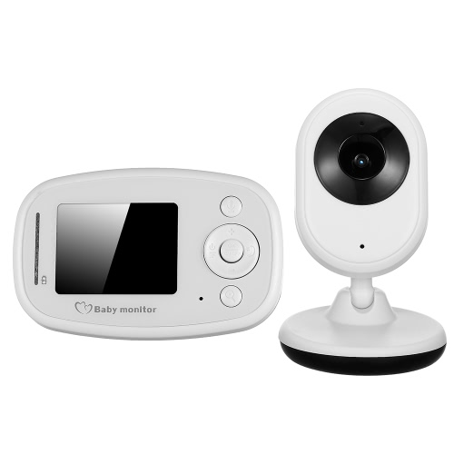 2.4'' TFT LCD Wireless Baby Monitor Security Camera