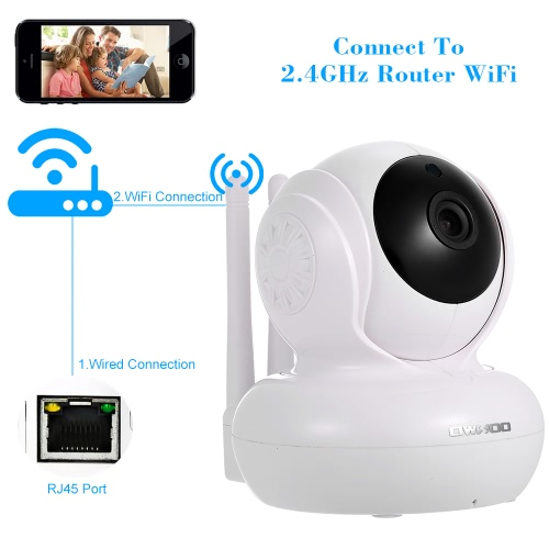 OWSOO 720P Wireless WIFI  Double Antennas IP Camera