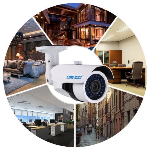 OWSOO 4 * 1080P AHD IR CCTV Kamera + 4 * 60ft Kabel