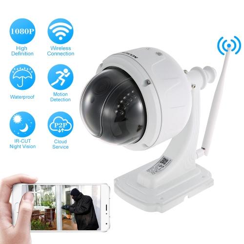 KKmoon  1080P  Wireless WIFI Dome PTZ HD IP Camera