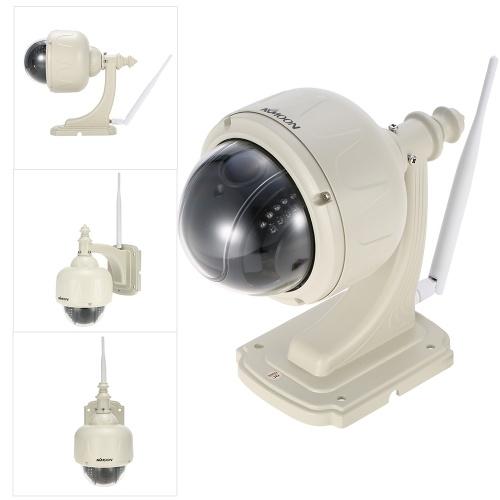 KKmoon 1080P Беспроводная WIFI купольная камера PTZ HD IP