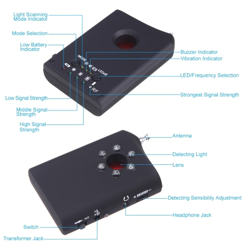 Wireless Signal Radio Frequency Detector