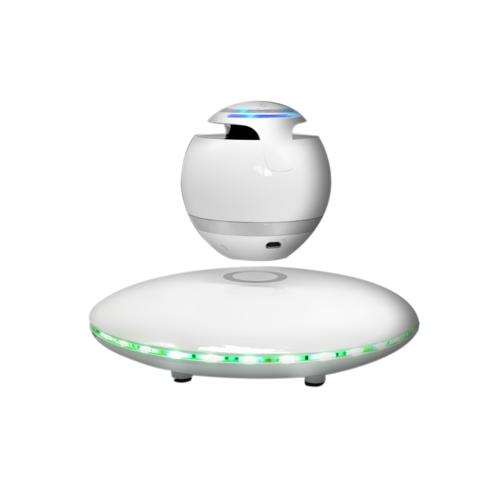 Tragbare LED Magnetschwebebahn BT Lautsprecher für Telefon Computer Mini Audio Wireless Stereo Sound