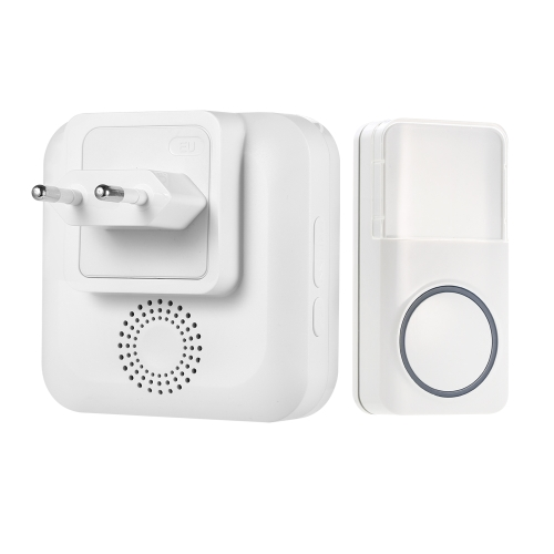 Wireless Smart Doorbell Operating at Wide Range with 52 Melodies 5 Level Volume LED Indicator Waterproof Doorbell