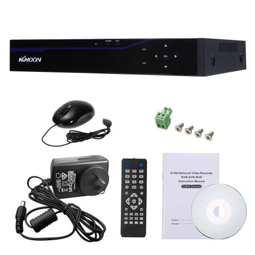 KKムーン4CH H.264 5 in 1 4M-N AHD DVRデジタルビデオレコーダー