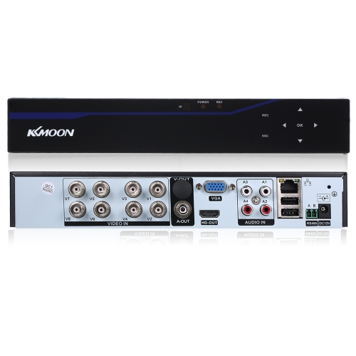 KKmoon 8CH Kanal 5 in 1 4M-N AHD Touchscreen DVR Digital-Videorekorder