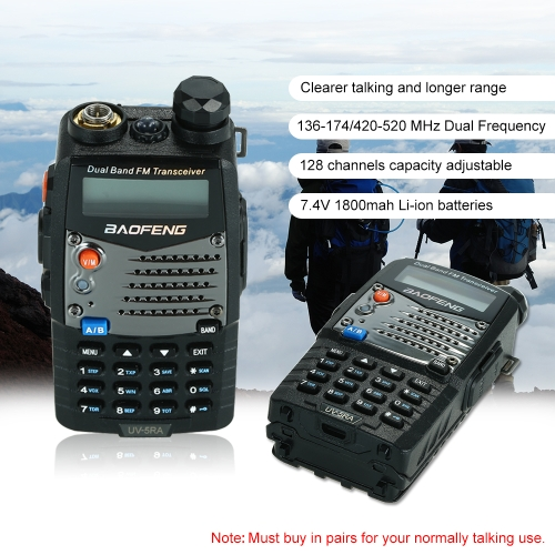 BAOFENG UV-5RA Two-Way Radio