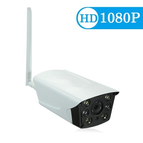 Câmera do IP das lâmpadas de HD 1080P P2P Onvif 2PCS IR
