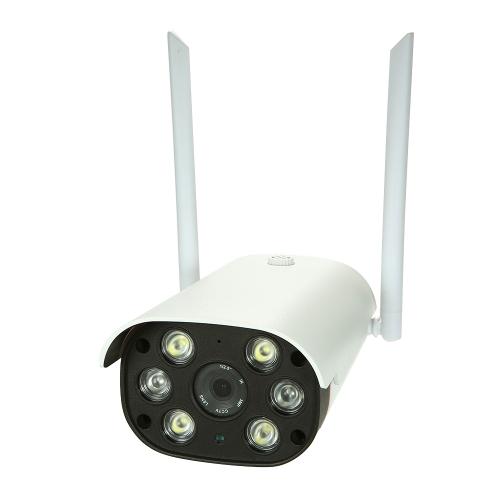 Câmera do IP das lâmpadas do IR do áudio 2PCS de 2 maneiras de HD 960P P2P Onvif