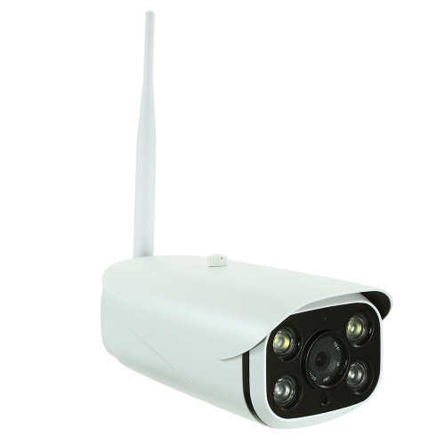 HD 1080P 6mm Lens 2-way Audio IP Camera