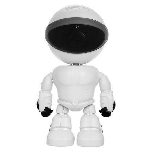 Caméra IP de sécurité de robot WiFi HD 1080P