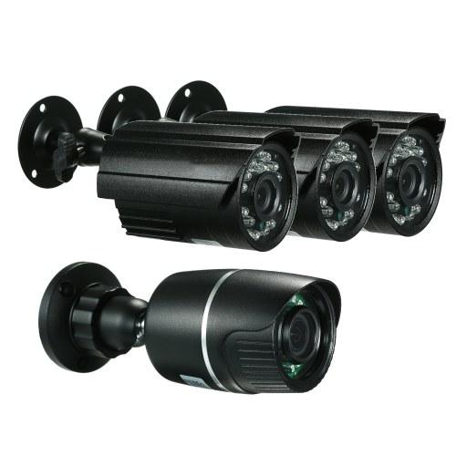 4CH 1080P AHD CCTV Bullet Camera System