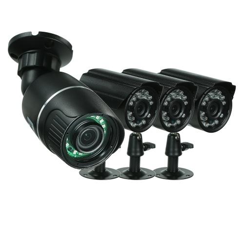 4CH 1080P AHD CCTV弾丸カメラシステム