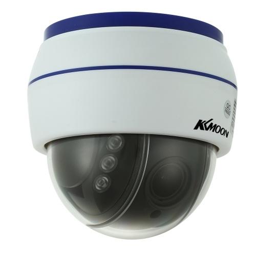 HD 1080PワイヤレスドームPTZ IPカメラ