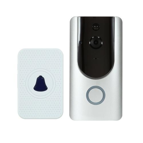 HD 720P WIFI Visual Intercom Door Phone With Indoor Ding-Dong Door Bell