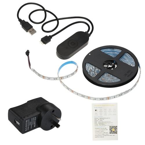 USB WIFI PC / TVバックライトキット5M 16.4フィートRGBライトストリップLED