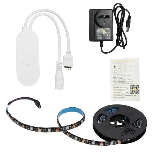WIFI PC / TVバックライトキット2M 6.56フィートRGBライトストリップLEDストリップライト