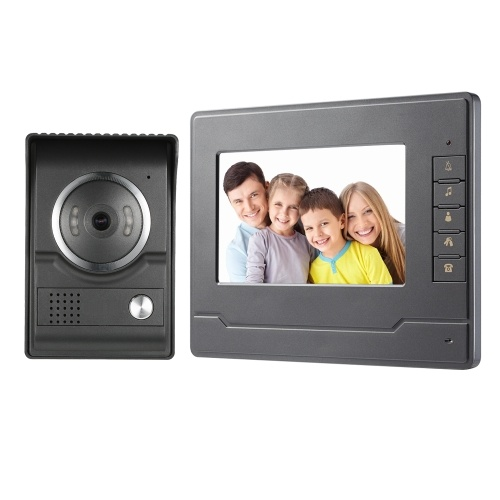 7inch TFT-LCD Color Screen Video Door Phone