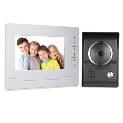 7inch TFT-LCD Color Screen Video Door Phone