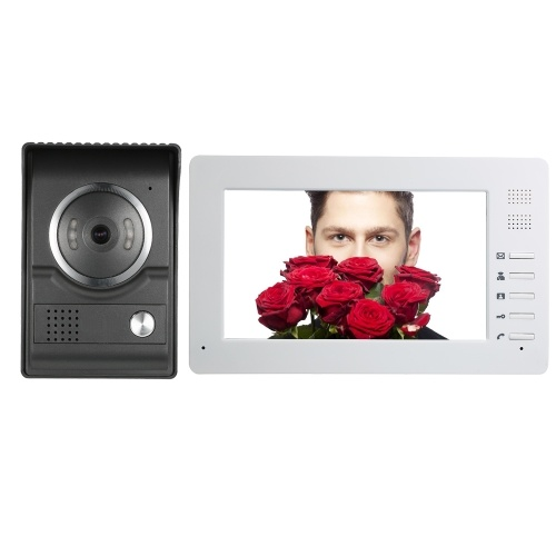 7inch TFT-LCD Color Screen Wird Video Door Phone