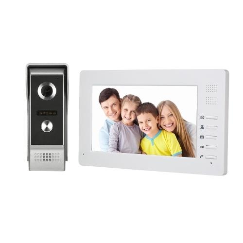 7インチのTFT  -  LCDカラー画面の鳥のビデオドアの電話