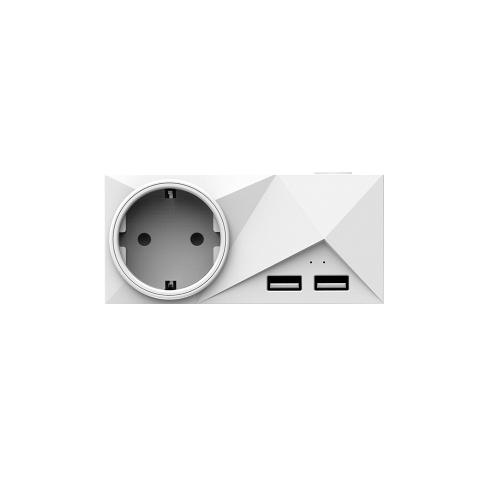 Soquete esperto dos portos de USB das tomadas duplas espertas de Wifi mini tomadas 2