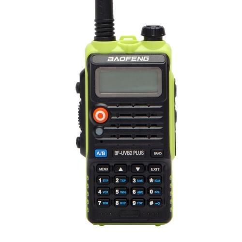 BAOFENG Pofung BF-UVB2 Plus Dwukierunkowe radio Walkie Talkie 136-174 / 400-520 MHz VHF / UHF Ręczny nadajnik radiowy z dwoma pasmami