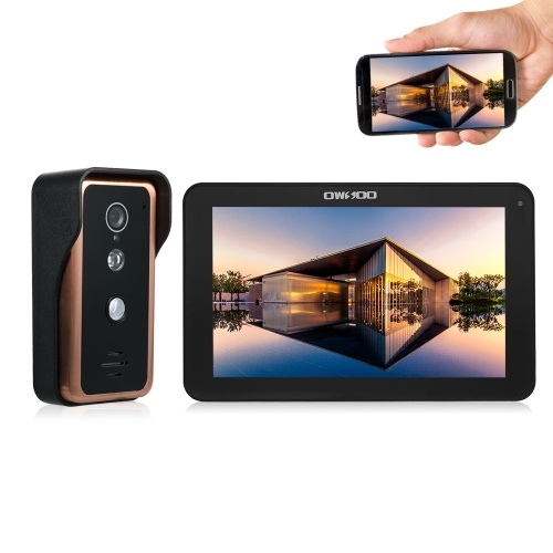 OWSOO 9inch Monitor Wired WIFI Video Door Phone Doorbell