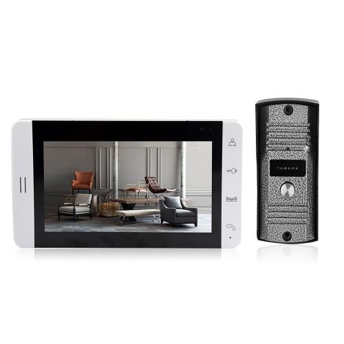 Home Security 7-inch LCD Screen Monitor Color Video Door Viewer Door Bell