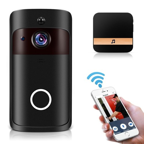 Smart Home WiFi Doorbell 1080P HD Security Camera with Two-Way Audio фото